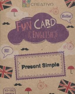Fun Card English: Present Simple