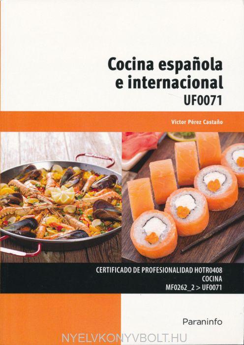 Cocina espanola e internacional