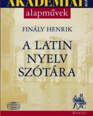 A latin nyelv szótára - Akadémiai alapművek