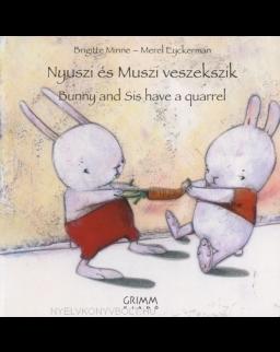 Nyuszi és Muszi veszekszik - Bunny and Sis have a quarrel