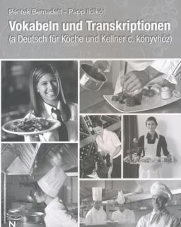 Deutsch für Köche und Kellner Vokabeln und Transkriptionen