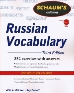 Schaum's Outlines - Russian Vocabulary 232 Exercises with Answers
