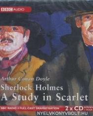 Sir Arthur Conan Doyle: Sherlock Holmes: A Study in Scarlet - Audio Book CD
