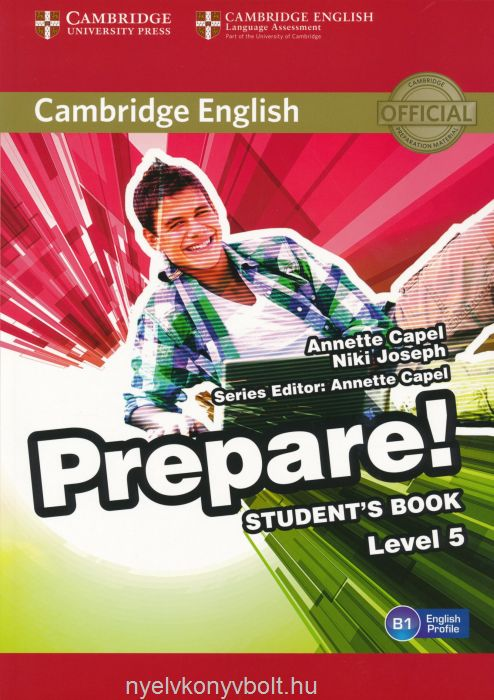 Cambridge English Prepare! Student's Book Level 5