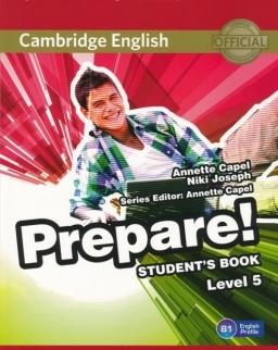 Cambridge English Prepare! Student's Book Level 5