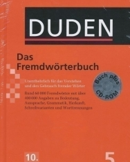 Das Fremdwörterbuch mit CD-ROM (10. Auflage) - Der Duden in 12 Bänden/Band 5