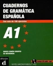 Cuadernos de gramática Espanola con más de 100 ejercicios A1 - incluye CD audio - MP3
