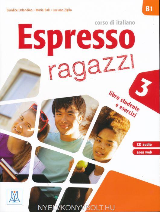 Espresso Ragazzi 3 Libro Studente e Esercizi con Videocorso DVD +CD Audio