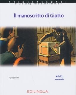 Primiracconti: Manoscritto di Giotto Con CD Audio Letture semplificate per stranieri (A2-B1)