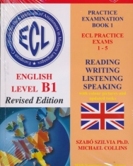 ECL Practice Examination Book 1 Practice Exams 1-5 English Level B1 with Audio CD - Revised Edition