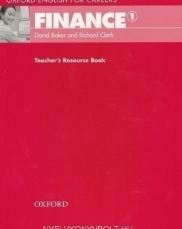 Finance 1 - Oxford English for Careers Teacher's Resource Book