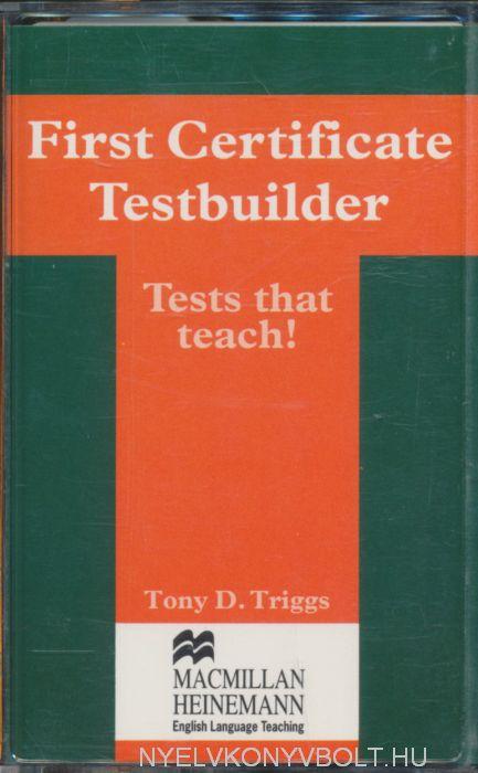 First Certificate Testbuilder Cassette