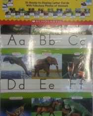 Animals From A to Z Alphabet Set Manuscript - Bulletin Board