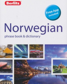 Berlitz Norwegian Phrase Book & Dictionary - Free App included