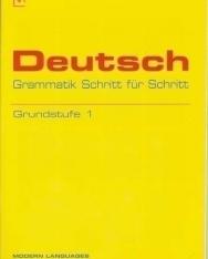 Deutsch Grammatik Schritt für Schritt - Grundstufe 1 mit Audio CD