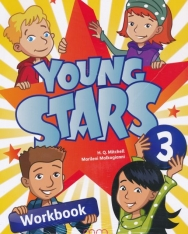 Young Stars Level 3 Workbook with CD-ROM