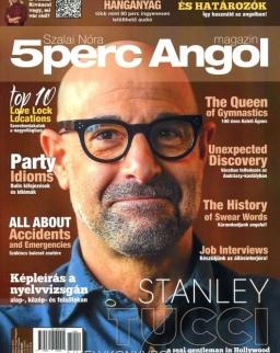 5 Perc Angol Magazin 2021 Február