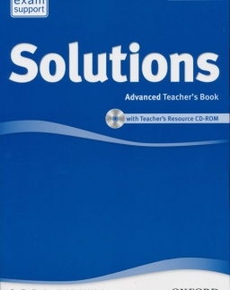 Solutions Advanced 2nd Edition Teacher's Bookwith Teacher's Resource CD-ROM