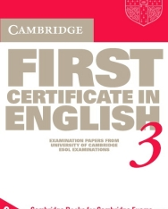 Cambridge First Certificate in English 3 Cassettes (2)