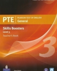 PTE General Skills Boosters 3 Teacher's Book with Audio CD