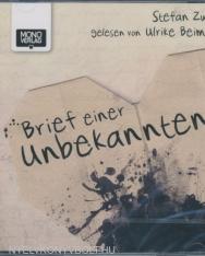 Stefan Zweig: Brief einer Unbekannten Audio-CD