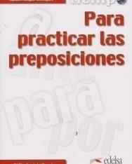 Tiempo... Para practicar las preposiciones