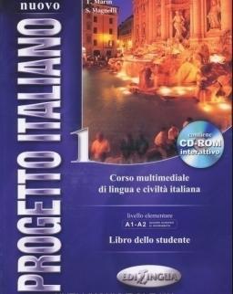 Nuovo Progetto Italiano 1 Libro dello studente contiene DVD