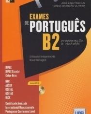 Exames de Portugués B2 preparacao e modelos inclui DVD