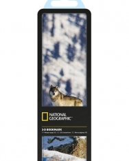 National Geographic 3-D Bookmark - Gray Wolf