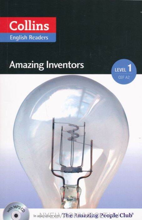 Amazing Inventors with MP3 Audio CD - Collins English Readers - Amazing People Level 1