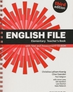 English File - 3rd Edition - Elementary Teacher's Book with Test and Assessment CD-ROM