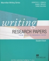 Writing Research Papers from Essay to Research Paper Student Book