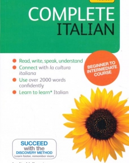 Teach Yourself - Complete Italian from Beginner to Intermediate Book pack