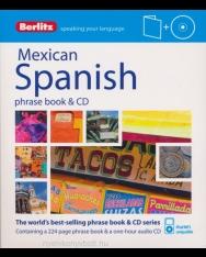 Berlitz Mexican Spanish Phrase Book & Audio CD