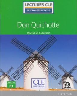 Don Quichotte - Niveau 3/B1 - Lecture CLE en français facile - Livre - Nouveauté