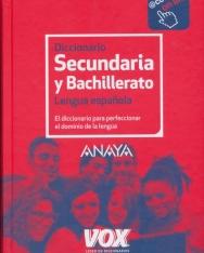 Diccionario de Secundaria y Bachillerato