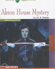 Akron House Mystery - with Audio CD/CD-ROM - Black Cat Green Apple Step 1