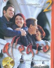 Allegro 2 Corso Multimediale d'italiano - Libro dello studente ed esercizi + CD Audio