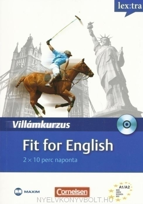 Fit for English Villámkuzus Audio CD-vel
