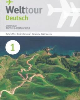 Welttour Deutsch 1 Arbeitsbuch mit Audio Cd