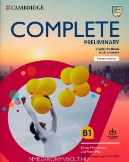 Complete Preliminary Student's Book with Answers with Online Practice - For the Revised Exam from 2020