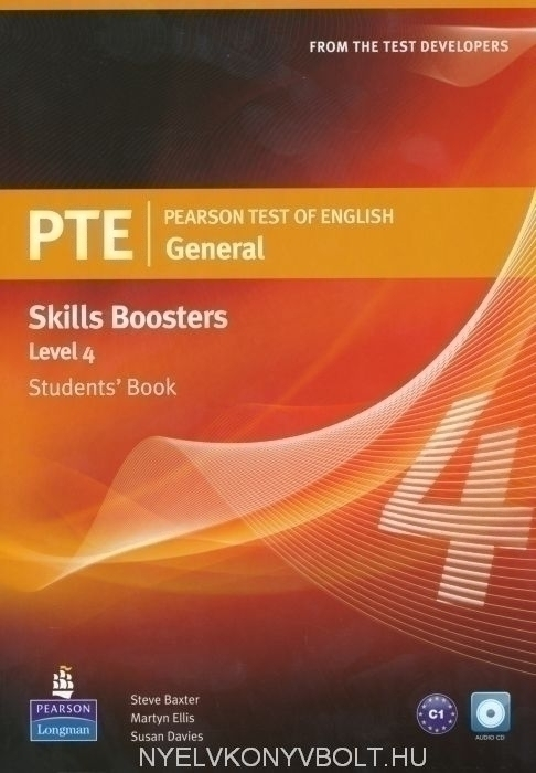 PTE General Skills Boosters 4 Student's Book with Audio CD