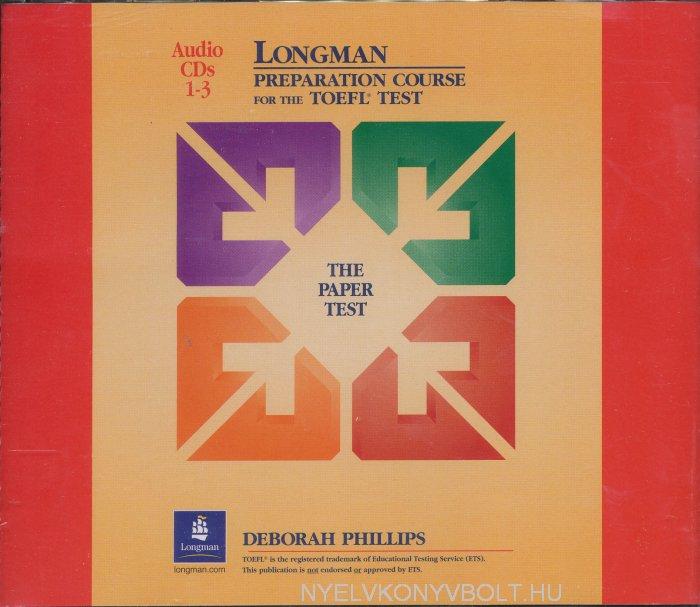Longman Preparation Course for the TOEFL Test - The Paper Test Audio CDs