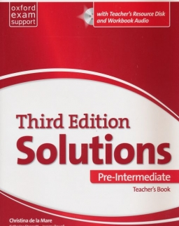 Solutions 3rd Edition Pre-Intermediate Teachert's Book