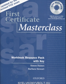 First Certificate Masterclass 2008 Edition Workbook Resource Pack with Key and MultiROM