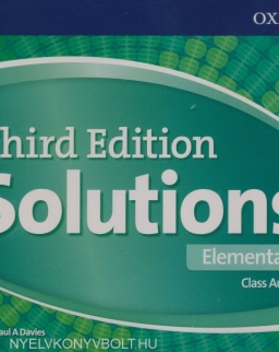 Solutions 3rd Edition Elementary Class Audio CDs