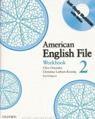 American English File Level 2 Workbook with Multi-ROM Pack