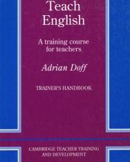 Teach English Trainer's handbook