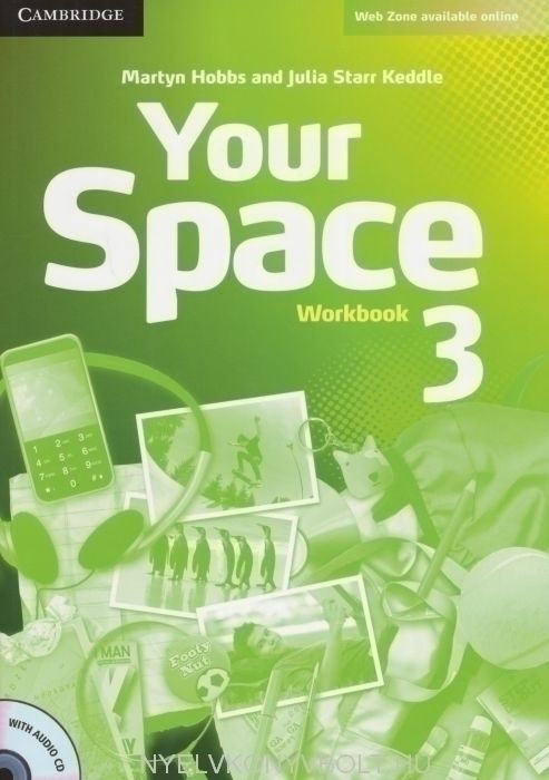 Your Space Level 3 Workbook with Audio CD