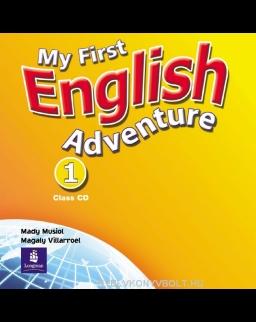 My First English Adventure 1 Class Audio CD